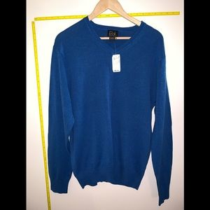 NWT Jos.A. Bank Signature Collection VNeck Sweater